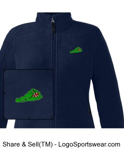 Ladies Journey Fleece Jacket Design Zoom